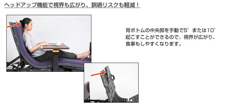 ヘッドアップ機能で視界も広がり、ご縁リスクも軽減