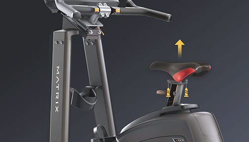 家庭用MATRIX アップライトバイク U50カスタマイズ可能