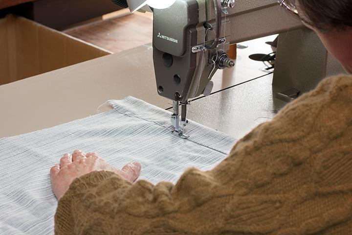 和晒ガーゼパジャマ panema(グリーン)国内縫製